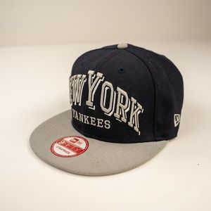 New Era Accessories - New York Yankees Blue 9Fifty New Era Strapback Hat